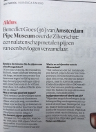 Silver treasure in the Amsterdam newspaper