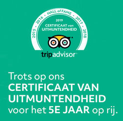 New award from Tripadvisor