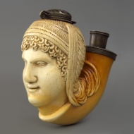 Serene Etruscan female head