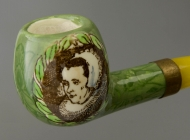 Dutch painting on a pipe