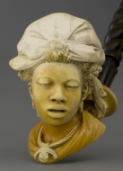 Bust of a black woman