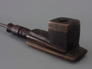 Tobacco pipe with cubic forms